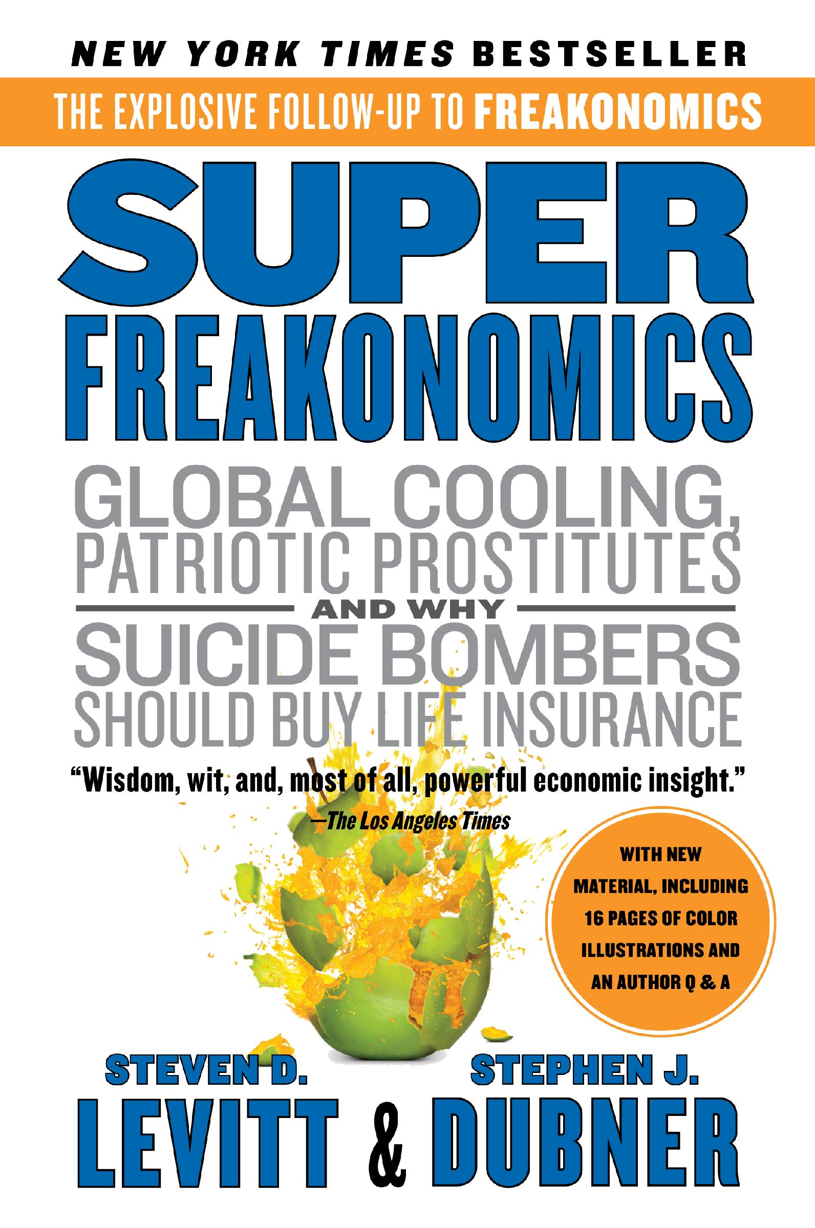 an analysis of freakonomics Freakonomics isn't really about any one thing, which makes it a bit hard to summarize in essence, it's economist steven levitt playing around with economic principles and basic statistical analysis to examine various cultural trends and phenomena.