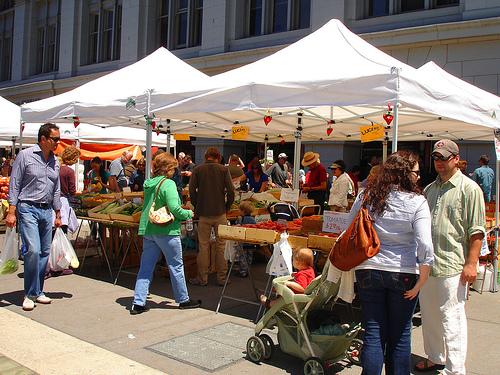 The inefficiency of local food freakonomics freakonomics for Outdoor food market