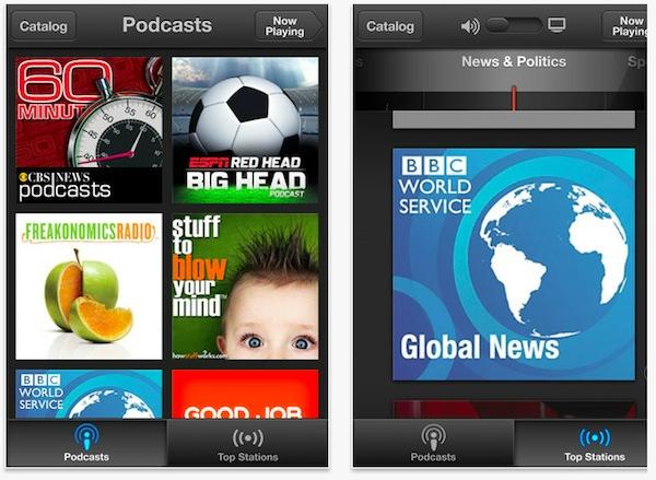 Apple's New Podcast App