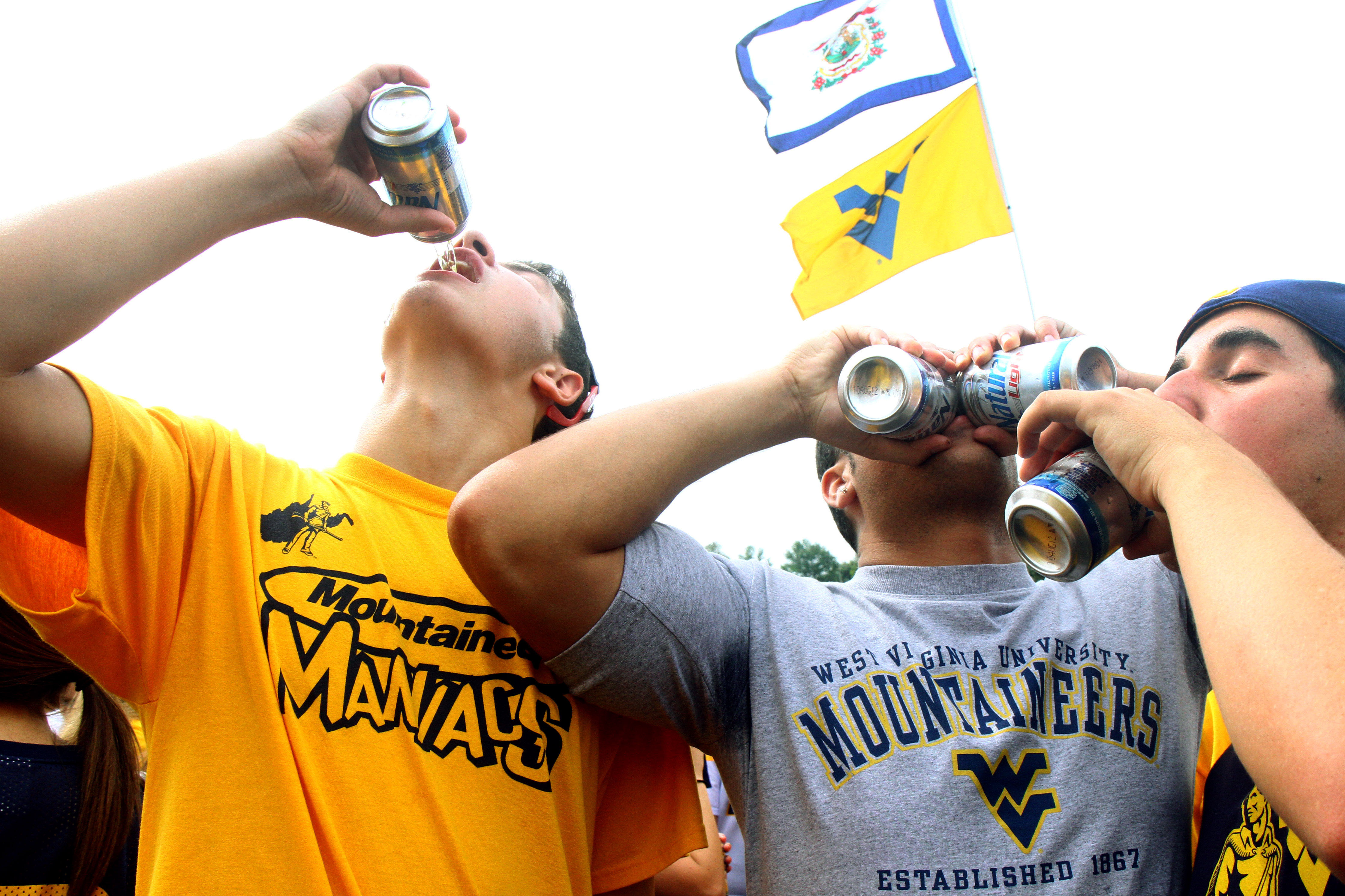 Drinking Alcohol At College Football Games