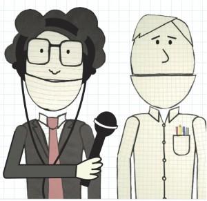 radio cartoon