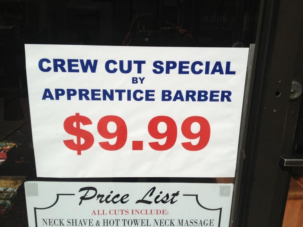 apprentice price