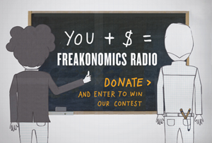 Freakonomics seeks donations