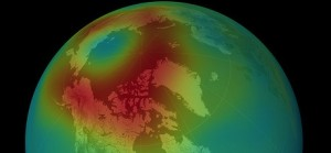 (Photo: Atmospheric Infrared Sounder)