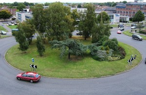 traffic roundabout