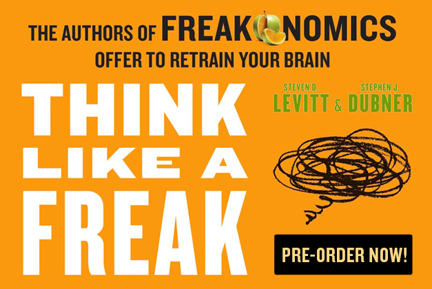 Out May 12 - Think Like a Freak