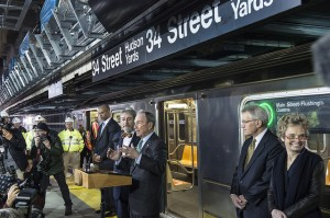 Former New York City Mayor Bloomberg at a MTA ceremony.  (Photo: Metropolitan Transportation Authority of the State of New York)