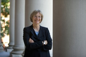 "Drew Gilpin Faust, the ""pain-in-the-neck"" little girl fromrural Virginia who became the president of Harvard University. (photo: Harvard University)"