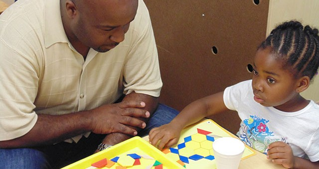 An experimental pre-school in Chicago Heights also got the parents involved.