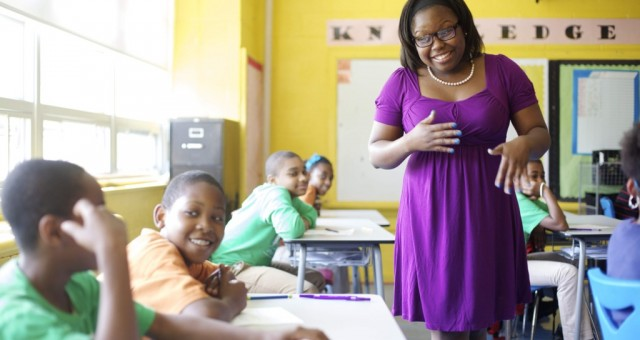 Teacher quality has a huge impact. So how can we identify, educate and reward the good ones? (photo: Ethan Pines)