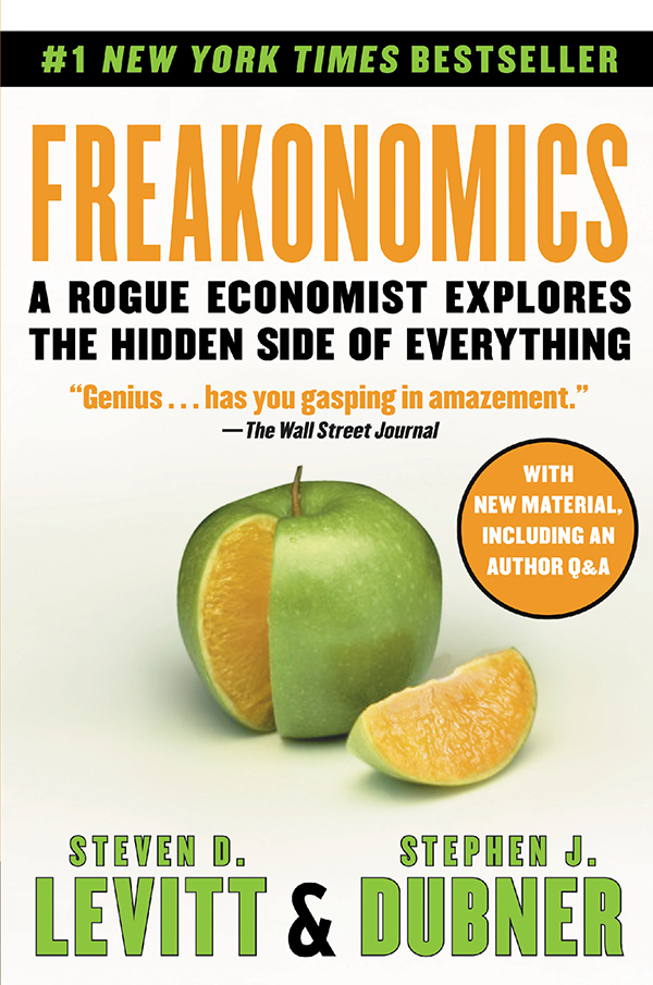 research paper on freakonomics Outline introduction 1 a fresh look at freakonomics 2 the difference between economics and freakonomics 3 a critical analysis and discussions.