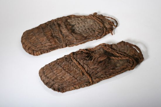 1c9caa895fca The world s oldest known shoes are sagebrush sandals. They are around  10
