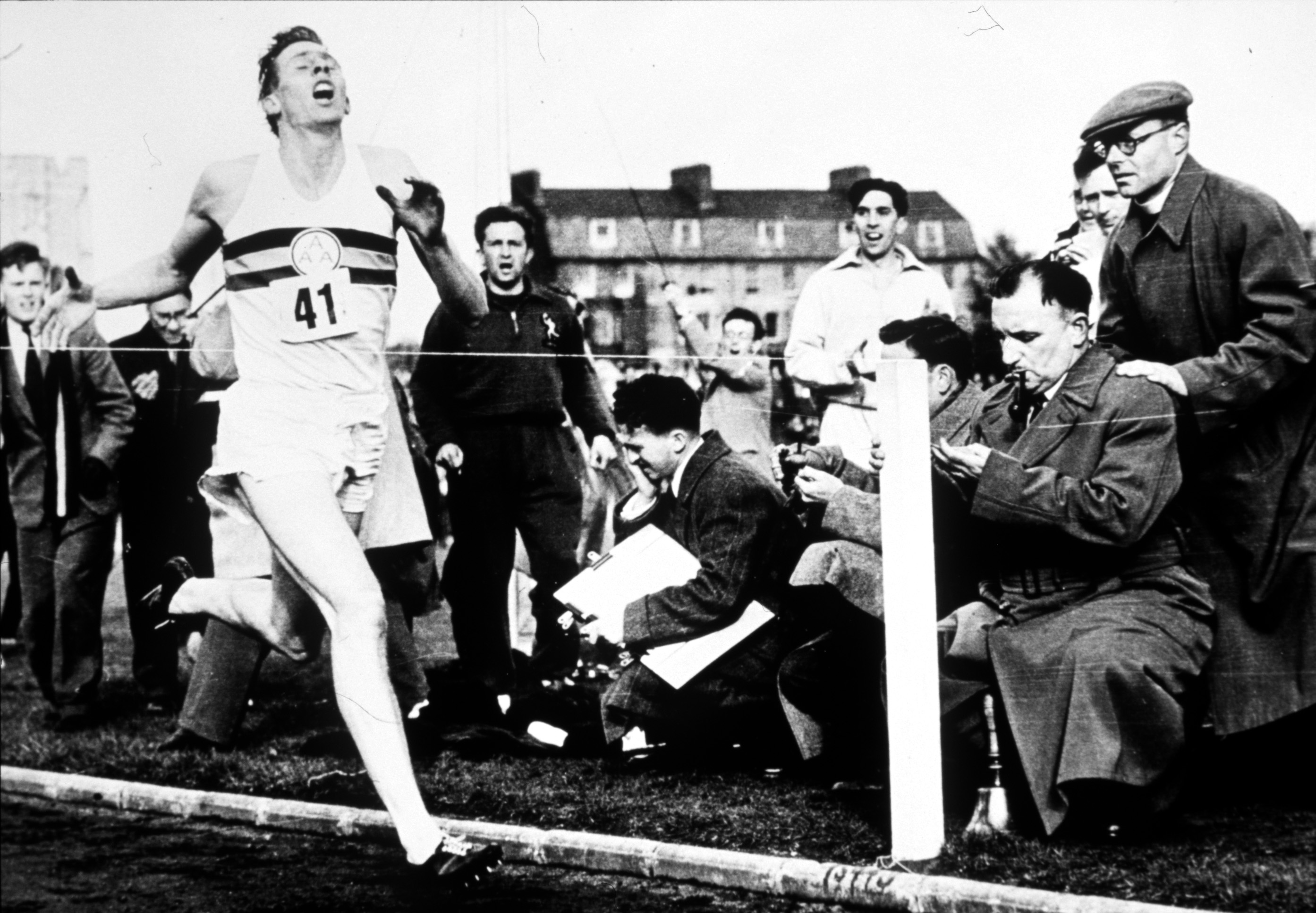 In 1954 it was thought that the four minute mile was a physiologically impossible barrier and that a runners legs would fall off