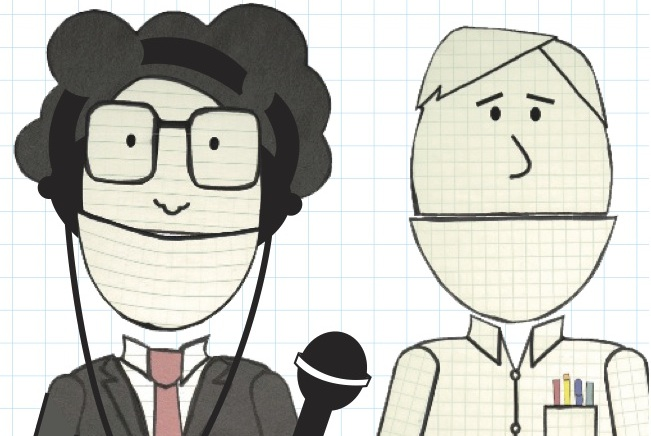 radio-cartoon feature