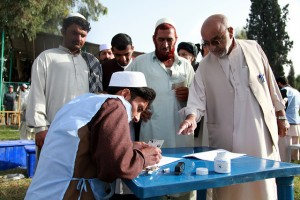 Local elections in Khost province, Afghanistan. (Photo: isafmedia)
