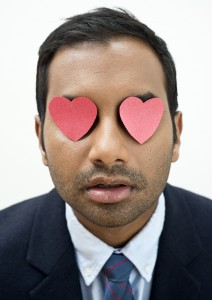 Aziz Ansari, modern romanticist. (photo: Ruvan Wijesooriya)