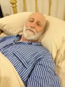 The economist Dan Hamermesh, shown here practicing what he researchers, wrote a landmark paper in the economics of sleep.