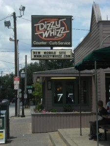 The winner: Dizzy Whizz was ranked No. 1 by Emily O'Mara for best cheeseburger and fries.
